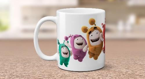 """Masinis.lt - Itin kokybiškas, keramikinis """"Oddbods"""" puodelis! Jūsų išskirtinis puodelis!"""
