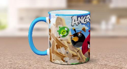 """Masinis.lt - Itin kokybiškas, keramikinis """"Angry Birds"""" puodelis! Jūsų išskirtinis puodelis!"""
