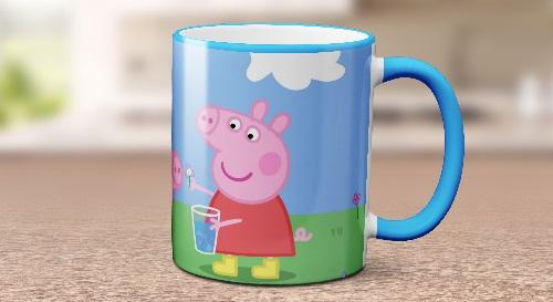 """Masinis.lt - Itin kokybiškas, keramikinis """"Peppa Pig"""" puodelis! Jūsų išskirtinis puodelis!"""