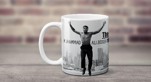 """Masinis.lt - Itin kokybiškas, keramikinis """"Muhammad Ali"""" puodelis! Jūsų išskirtinis puodelis!"""