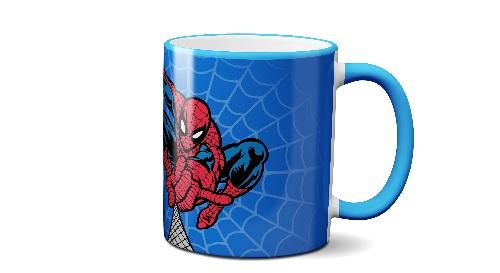 """Masinis.lt - Itin kokybiškas, keramikinis """"Spider-Man"""" puodelis! Išskirtinis puodelis su Jūsų vardu!"""