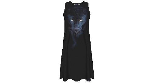 Masinis.lt - SANDĖLYJE! Kokybiška ir nuotaikinga moteriška suknelė, M/L dydis (5902982177846)!