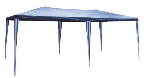 Masinis.lt - SANDĖLYJE! Mėlynos spalvos, lengvai pastatoma, didelė lauko pavėsinė, atspari lietui, 3 x 6 m. (122051342)!