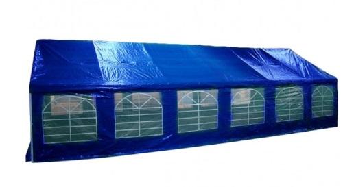 Masinis.lt - Mėlynos spalvos lengvai pastatoma didelė lauko pavėsinė atspari lietui (122051091)!