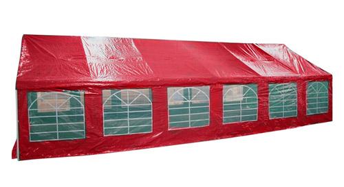 Masinis.lt - Raudonos spalvos lengvai pastatoma didelė lauko pavėsinė atspari lietui (122051100)!