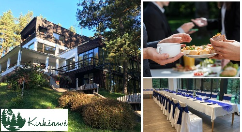 """Masinis.lt - Švęskite šventes - švenčių, seminarų ir poilsio centre """"Kirkšnovė""""! Iki 50 asmenų, su pokylių sale, prabangiu maistu ir nakvyne - gamtos apsuptyje!"""
