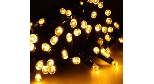 Masinis.lt - 300 LED, ŠILTAI BALTOS spalvos girlianda vidaus puošybai už puikią kainą!