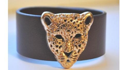 """Masinis.lt - Stilinga ir daili apyrankė """"Leopardas""""! Susikurkite savo išskirtinį stilių!"""