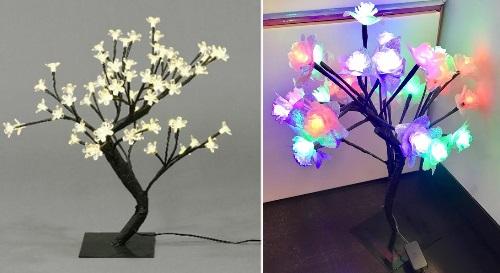 Masinis.lt - Šviečiantis LED žiedelių medelis už puikią kainą! Nuostabi Kalėdų dekoracija!