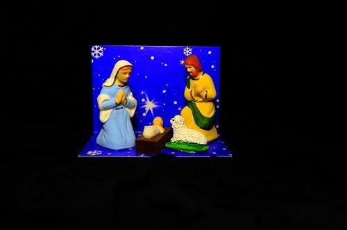 Masinis.lt - PREKĖ SANDĖLYJE - puiki kaina! Šv. Kalėdų atributas - tradicinė prakartėlė (PLR2)!