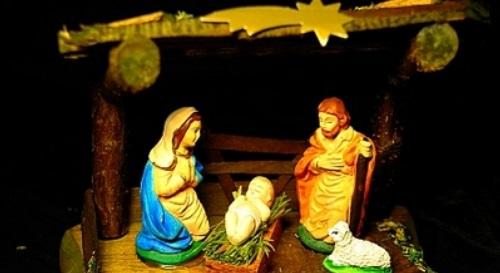 Masinis.lt - PREKĖ SANDĖLYJE - puiki dovana! Šv. Kalėdų atributas - tradicinė prakartėlė (LPT-2)!