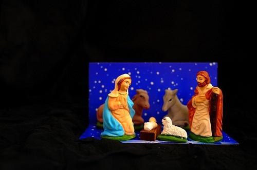Masinis.lt - PREKĖ SANDĖLYJE! ŠVENTINĖ NUOTAIKA UŽTIKRINTA! Įspūdingas ir taip reikalingas Šv. Kalėdų atributas - tradicinė prakartėlė (PLZ-3)!