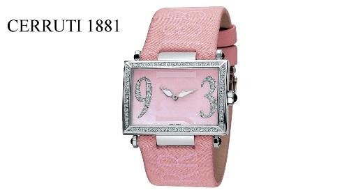 """Masinis.lt - Labai stilingas ir prabangus moteriškas """"CERRUTI 1881"""" laikrodis """"SCATOLA GRANDE"""" (CT100202X03)! Puiki dovanos idėja!"""