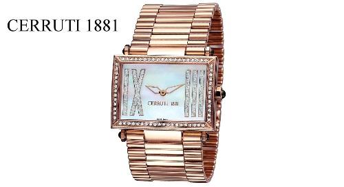 """Masinis.lt - Labai stilingas ir prabangus moteriškas """"CERRUTI 1881"""" laikrodis """"SCATOLA GRANDE"""" (CT100202X05)! Puiki dovanos idėja!"""