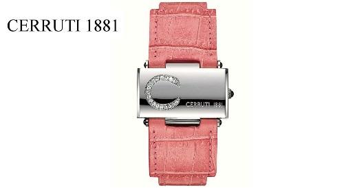 """Masinis.lt - Labai stilingas ir prabangus moteriškas """"CERRUTI 1881"""" laikrodis """"SCATOLA SOGNO"""" (CT68282X103022)! Puiki dovanos idėja!"""